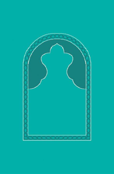 Açık Çini - Seccadeli Cami Halısı Modeli