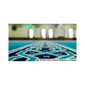 Antalya Osman Gazi Cami Halısı