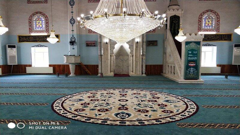 Karağaç Cami (Isparta) - Göbekli Cami Halısı Çalışmamız