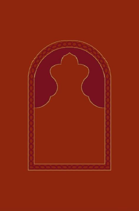 Kiremit - Seccadeli Cami Halısı Modeli