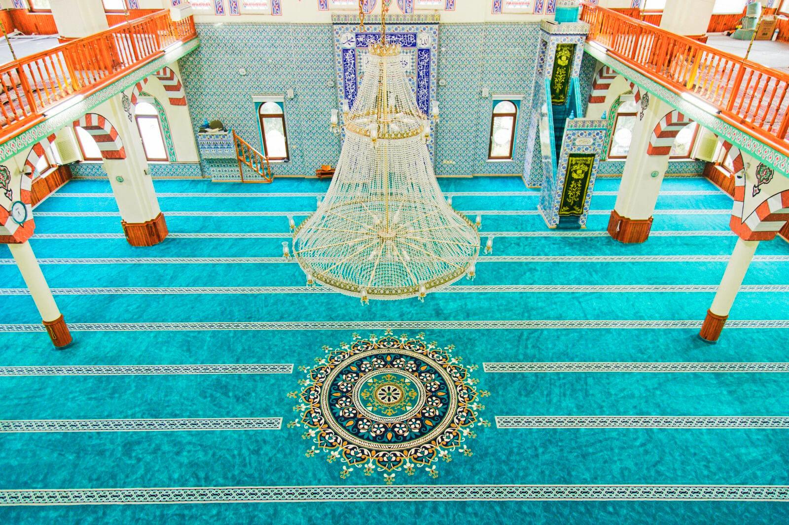 Soğuksu Osman Gazi Cami Halısı 2